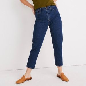 Madewell Tapered Jean in Bellclaire wash